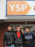 Kiril Dimov, Kalin Georgiev and Andrey Vasilev